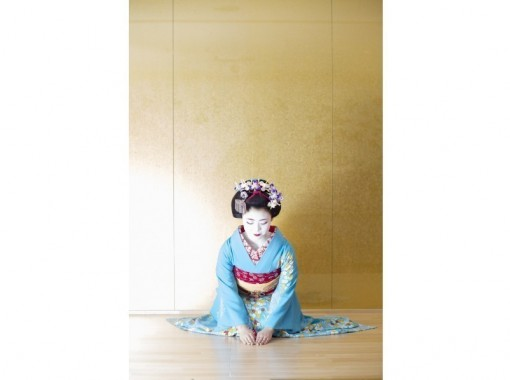 【京都・東山】本物の舞妓さんに会える!話せる!「おふくコース」舞妓さんとの記念写真プレゼント!!