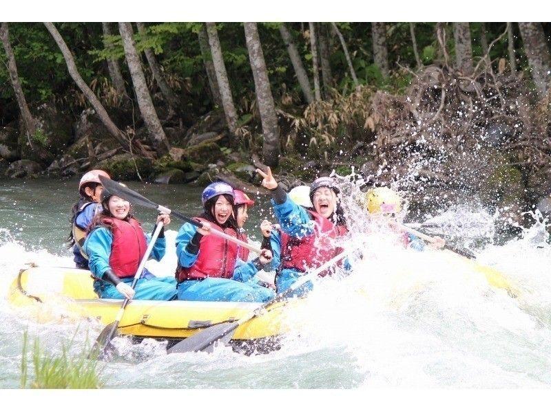 【北海道・十勝川】ラフティング・半日コース(Wラフティング)の紹介画像