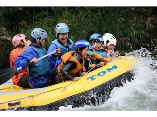 [Hokkaido Tokachigawa] Family Rafting half-day Course (W Rafting ♪)の紹介画像