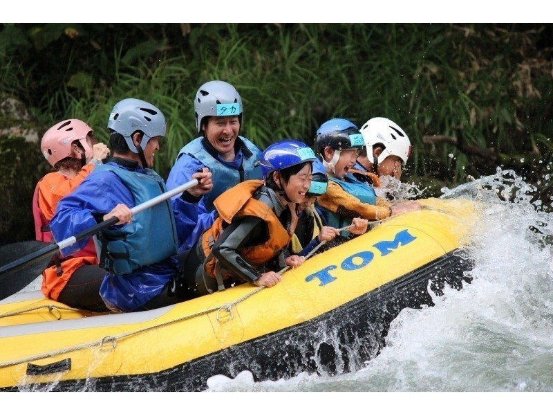 [Hokkaido Tokachi River] family rafting-half-day course (W rafting) Introduction image