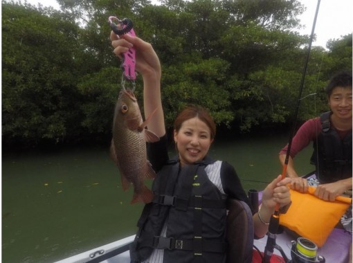 [ 沖縄 - 石垣島 】在紅樹林中石垣島被大自然所包圍皮艇釣魚の紹介画像