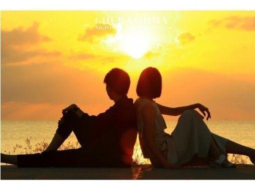 【沖縄・本島南部】美ら島サンセットフォトツアー! 綺麗な夕日をバックに沖縄旅行の最高の思い出を♪