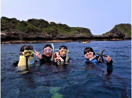 当天预约OK! Blue Cave Snorkel [冲绳 / 前田岬] GoPro 摄影&喂食免费提供英文指南! 9 月 30 日前包含寄宿费の紹介画像