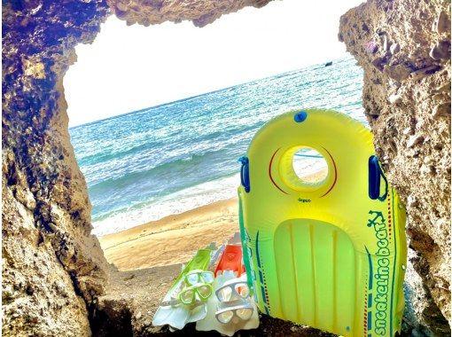 1 세트 전세 ☆ 오키나와 파랑의 동굴 체험 다이빙! 당일 예약 OK! GoPro 사진 이미지 및 먹이 무료! 수건 & 샌들 무료!の紹介画像