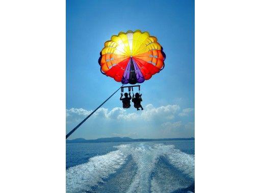 [沖縄藍洞】推薦家庭旅行!藍洞體驗深潛&恩納村拖傘制定計劃の紹介画像