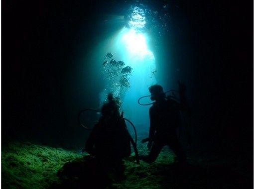 蓝洞体验潜水&恩纳村碧海皮划艇之旅【冲绳蓝洞】の紹介画像