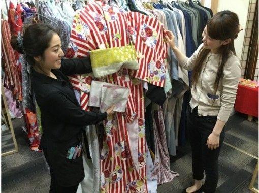 【京都・八坂神社】着物レンタル~お手軽!「1時間レンタルプラン」気軽に着物体験したい方におすすめです!
