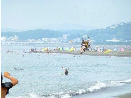 【神奈川・湘南】パワーパラグライダー・タンデム飛行体験(モーターパラグライダー)【土日祝がお得!!】