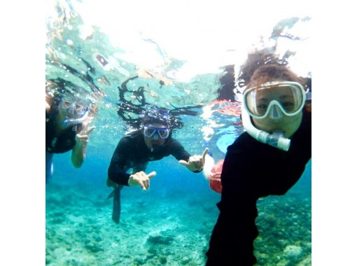 透明度抜群‼奄美ブルーの海でボートシュノーケル&船でしか行けない秘境にあるビーチ上陸ツアー