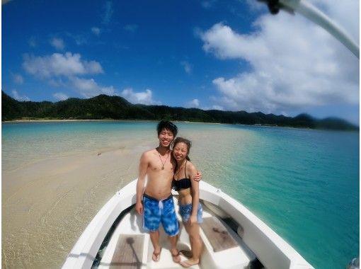 人気No.1‼️奄美ブルーの海でボートシュノーケル&船でしか行けない秘境のビーチ上陸ツアー※GoPro写真無料プレゼント