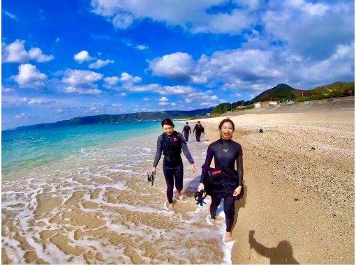 人気No.1‼️奄美ブルーの海でボートシュノーケル&船でしか行けない秘境のビーチ上陸ツアーの紹介画像