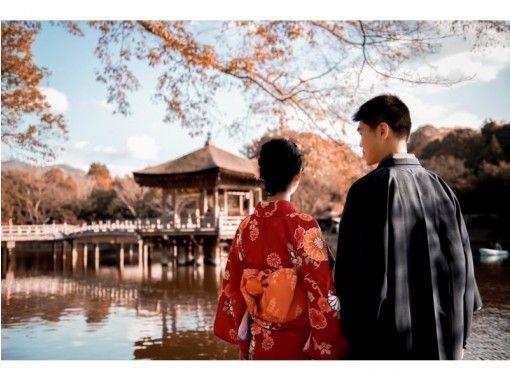 [奈良-奈良公園]超級促銷!和服租賃1890日元! !の紹介画像