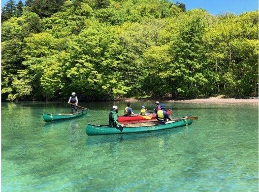 [青森-Lake Towada】加拿大獨木舟之旅,穿越美麗的湖泊!用巧克力蛋糕和茶!の紹介画像