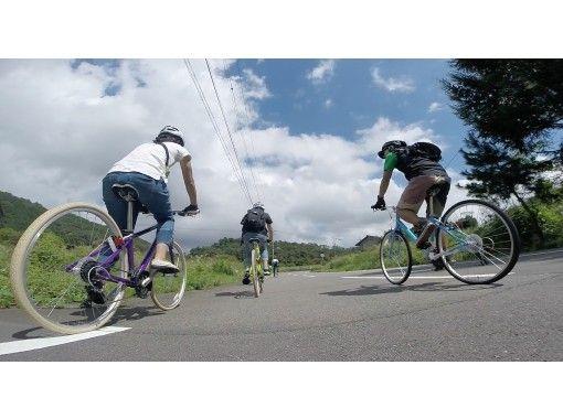 地域クーポン対応!【兵庫・但馬・神鍋】クロスバイクで行く!風を感じるサイクリングツアー・ガイド付き(半日コース)の紹介画像