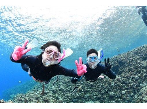 區域優惠券OK   [優惠套] Blue Grotto浮潛&體驗深潛旅遊[電暈對策優秀的店鋪]の紹介画像