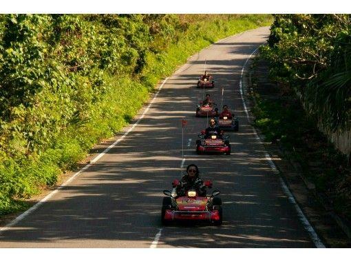 【沖縄・石垣島】石垣島の絶景に感動!ゴーカートで臨場感溢れるドライブ体験!公道を走れる「ゴーカート」