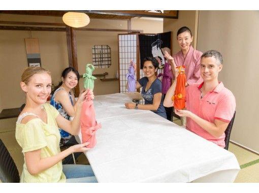 【東京・東京タワー至近】折り紙&風呂敷・折り包み体験教室(ETR062)伝統文化・お子さまと一緒に♪