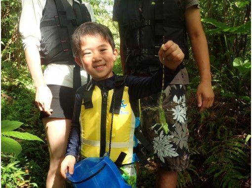 【沖縄・やんばる】リバートレッキングキッズ★子供が主役の冒険ツアー★貸切、写真・動画撮影付き