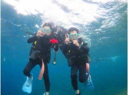 """区域优惠券OK 【8岁起OK! """"一组完全保留""""儿童潜水]与全家一起体验潜水[电晕措施优秀商店]の紹介画像"""