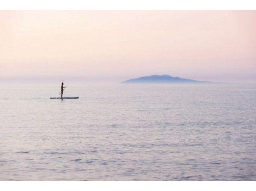 【秋田・由利本荘市岩城・SUP】日本海をSUPで満喫しよう!澄んだ空気でリフレッシュ!
