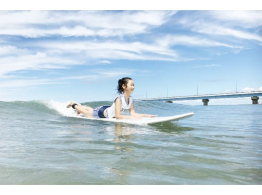 【秋田・由利本荘市岩城・サーフィン】日本海のキレイな海に感動!サーフィン体験