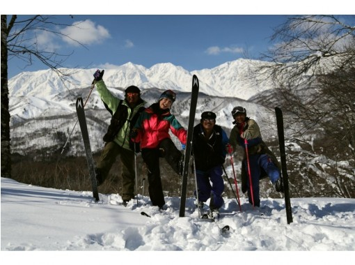 【長野・落倉高原】歩くスキー体験ツアー!ウロコ板で森を歩こう!