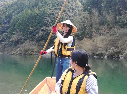【高知・和船】奇跡の清流仁淀川!伝統の和船船頭体験♪