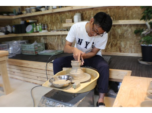 【熊本・熊本市】5才から参加OK!憧れの、電動ろくろ陶芸体験