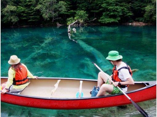 【北海道・支笏湖】支笏湖ブルーカヌー(90分)支笏湖で、家族、恋人、友だちとお気軽に♪の紹介画像