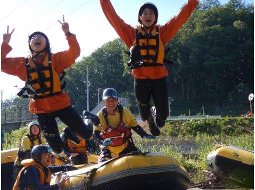 【北海道・十勝川】ラフティング・ショートコース(2時間)の紹介画像