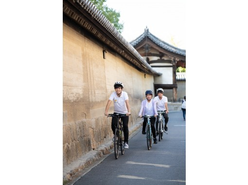 【奈良・斑鳩】自転車で世界遺産めぐり! レンタサイクル1時間プラン♪ クロスバイク・電動自転車