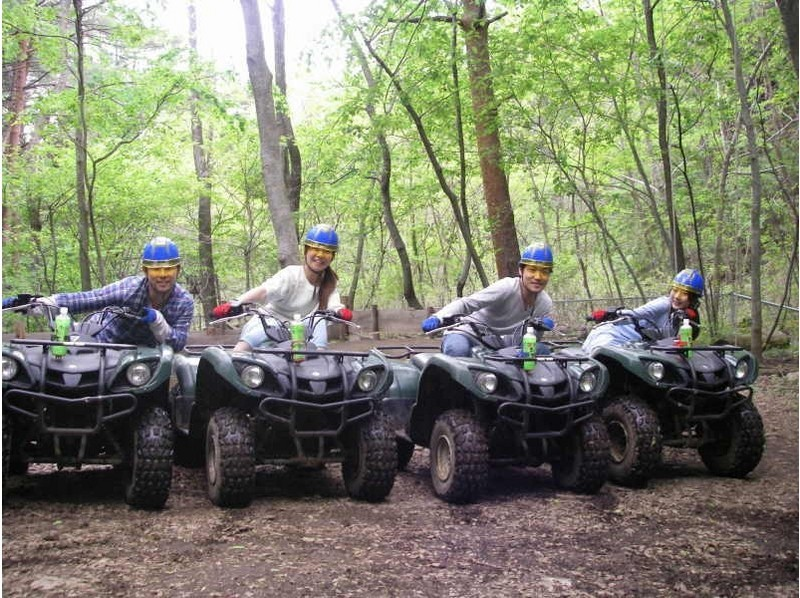 [Yamanashi Kawaguchiko] off-road experience course! Introduction image of a four-wheel buggy [one and a half hours]