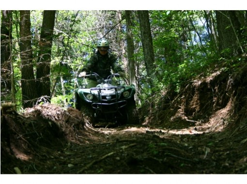 [Yamanashi/ Kawaguchiko] Off-road experience course! All-terrain vehicle(90 minutes) No license required. 16 years old and moreの紹介画像