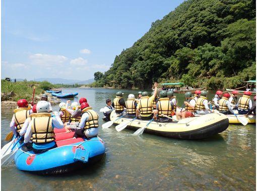 【京都・保津川】大自然が作る天然ジェットコースター!ラフティングツアー(午前9:00コース)の紹介画像