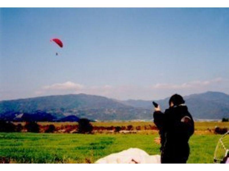 【徳島・吉野川/那賀川】パラグライダー体験フライト/タンデム(2人乗り)の紹介画像