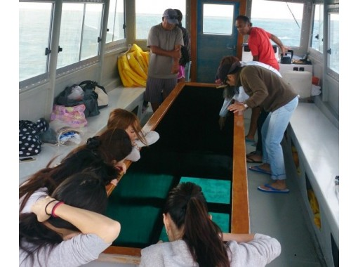 [沖縄-久米島]玻璃船繼續! Hatenohama 1日遊★(含午餐!住宿3.5小時)の紹介画像