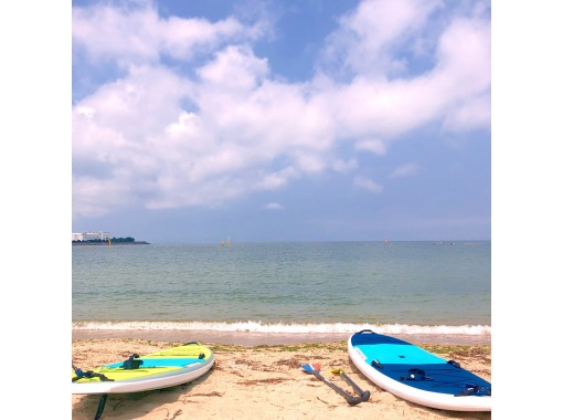 【大阪・二色の浜】SUP と SUP YOGAの両方が体験できるお得なプラン!