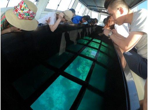 【石垣島・貸切プラン】1組限定貸切!グラスボート乗船付き!SUP+川平湾グラスボート乗船コース!の紹介画像