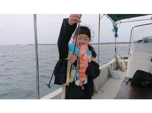 【※安心開催 船長ワクチン2回接種済 】【 一組貸切開催 手ぶらでOK・満足の3時間コース 】備瀬の海 船釣りプラン  の紹介画像