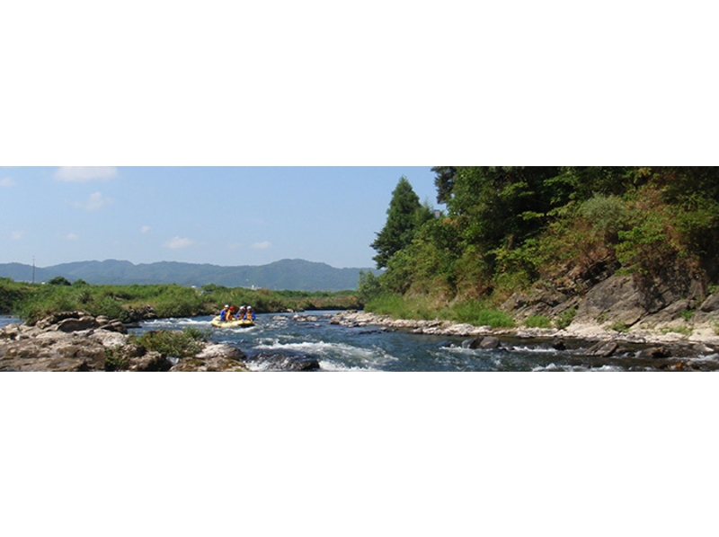 [Kyoto Hozu] participation from 1 grade OK! Introduction image of leisurely rafting tour (10:30 start)