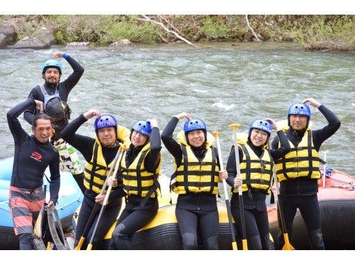 [Gunma / Minakami Rafting & Canyoning] A super-value combo plan that you can enjoy both!の紹介画像