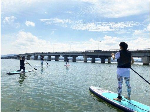 [Shiga Lake Biwa] SUP cruise empty-handed! Yoga wear free rental available! (Regularly held)の紹介画像