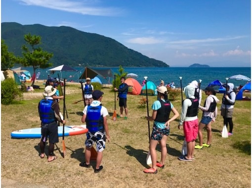 [滋贺/琵琶湖SUP体验/Kosei/Makino]大自然中值得Instagram和受欢迎的SUP体验!电晕措施完成の紹介画像