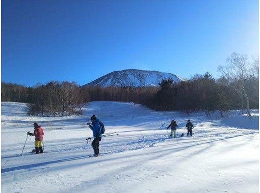 "[Nagano/ Karuizawa] Highest snow quality and view of Mt. Fuji / Yatsugatake ""Takamineyama Snowshoes trekking altitude 2000m""の紹介画像"