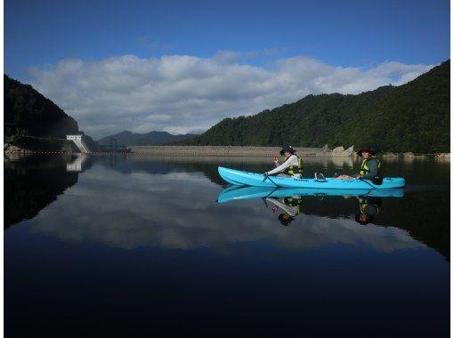 【HISスーパーサマーセール!実施中】1日の中で最も美しい早朝の湖でカヌーツアー♪*関東・群馬・みなかみ
