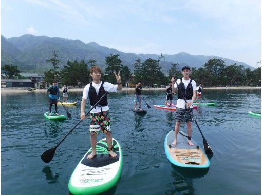 【滋賀・大津・松の浦】水質に自信あり♪ 琵琶湖でサップ。水上お散歩。