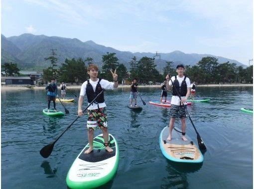 [Shiga ・ Otsu ・ Matsunoura】 I'm confident in the water quality ♪ Sap in Lake Biwa. Walk on the water.の紹介画像