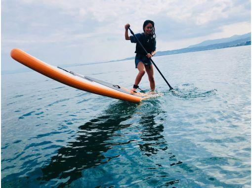 [滋賀-大津·Matsunoura】我對水質感到自信♪琵琶湖的悶棍。走在水面上。の紹介画像