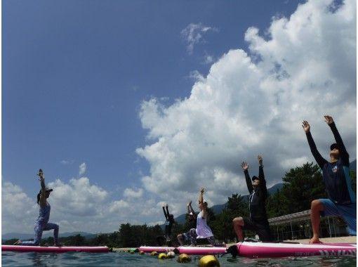 【滋賀・大津・松の浦】キレイな水質!琵琶湖でSUPヨガ体験コース♪