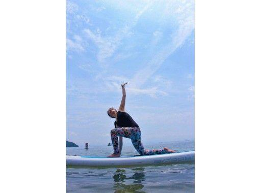 [Shiga ・ Otsu ・ Matsunoura】 Beautiful water quality! At Lake Biwa SUP Yoga Experience course ♪の紹介画像